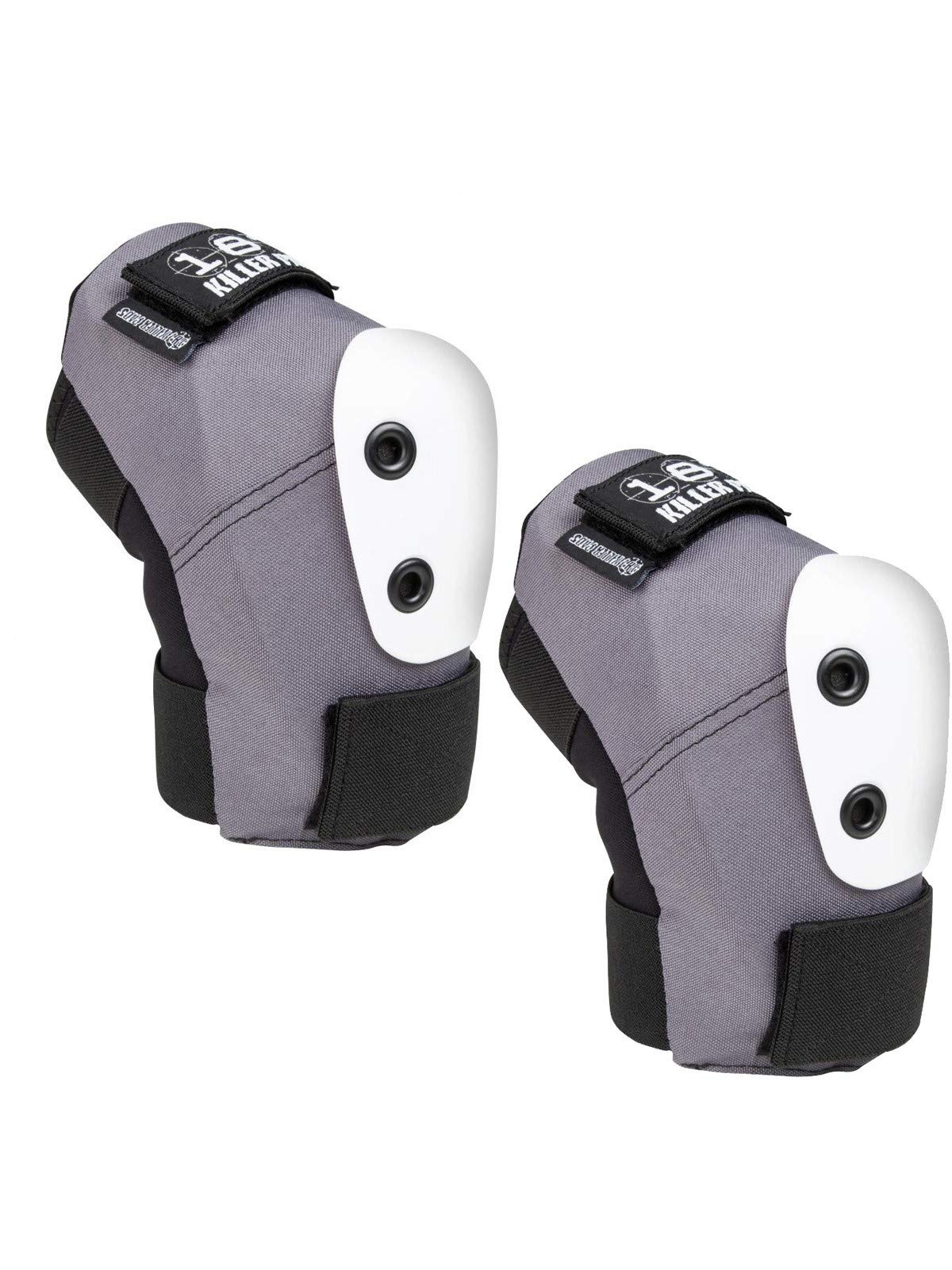 187 Killer Pads Pro Elbow Pads - Grey/White - Small