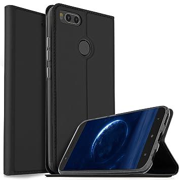 """iBetter Funda Xiaomi MI A1 5.5"""", Cubierta de cuero PU Multi-Angle Shockproof"""