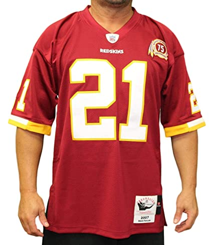 ed28f551c Mitchell   Ness Sean Taylor Washington Redskins Authentic 2007 Red NFL  Jersey ...