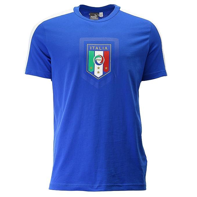 Amazon.com: Puma de los hombres FIGC Italia Fanwear – Badge ...