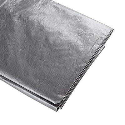 ATE Pro. USA 96050 Heavy-Duty Tarpaulin, 5 by 7-Feet, Silver : Garden & Outdoor