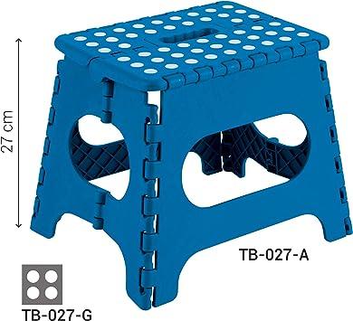 Arregui TB-027-D1 27 x 29 x 22 cm Sgabello pieghevole alto 27 cm papavero