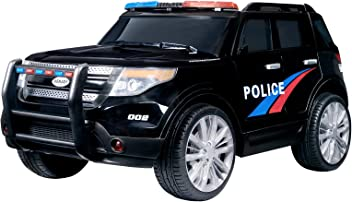 8dc615c82036 Uenjoy 12V Ride on Cars Children's Electric Cars Double-Drive Police Car  for Kids W