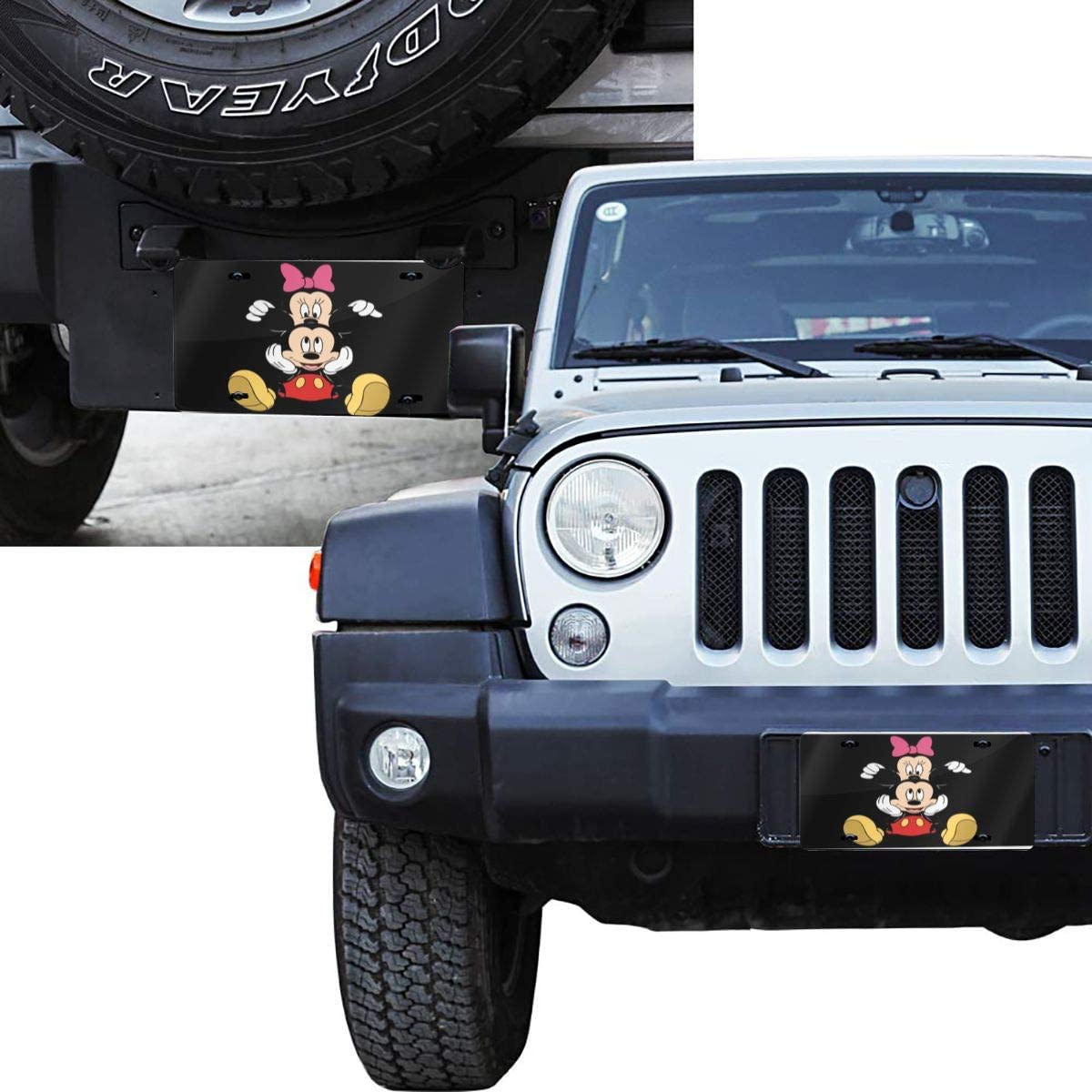 Cool Crayon Shin-Chan License Plate Sign Tag Car Accessories 12 X 6 in