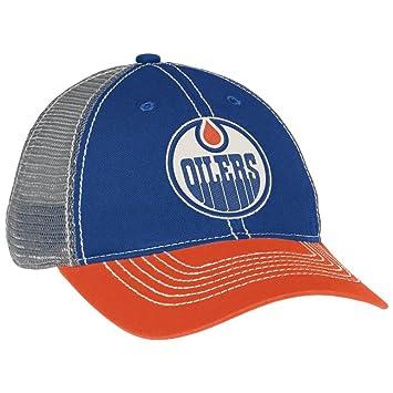 Edmonton Oilers CCM Vintage NHL Adjustable Mesh Back Slouch Hat ... ade206814d4b