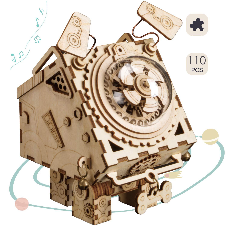 Rolife Size 木工組み立てキット 3Dパズルギフト 3Dパズルギフト B07MXJ95JV 子供と大人用 One Size Seymour B07MXJ95JV, 【人気No.1】:9ab227ec --- m2cweb.com