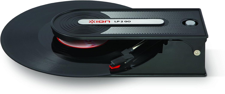 ION Audio LP2GO - Tocadiscos (USB), negro: Amazon.es: Electrónica