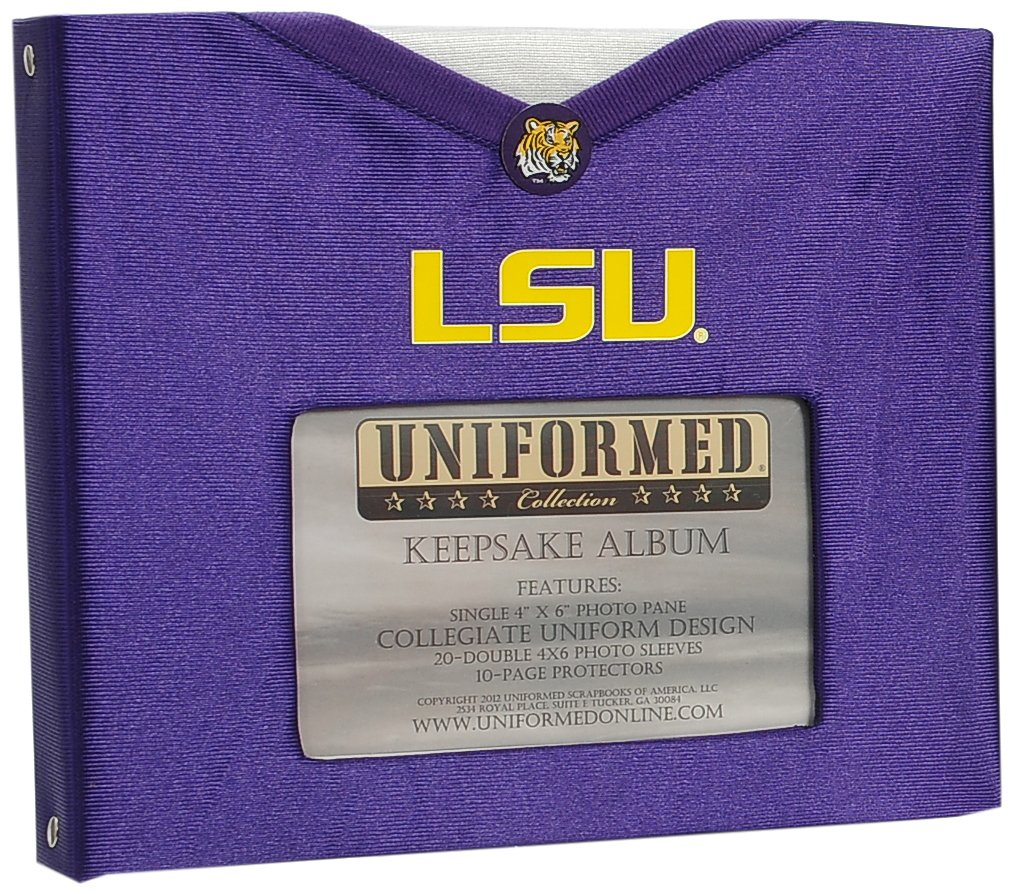 UNIFORMED Louisiana State University Keepsake/Photo Album