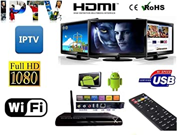 IPTV Smart IP TV Mini PC Android Wifi IP Dual Core RAM Android Bluetooth HDMI: Amazon.es: Electrónica
