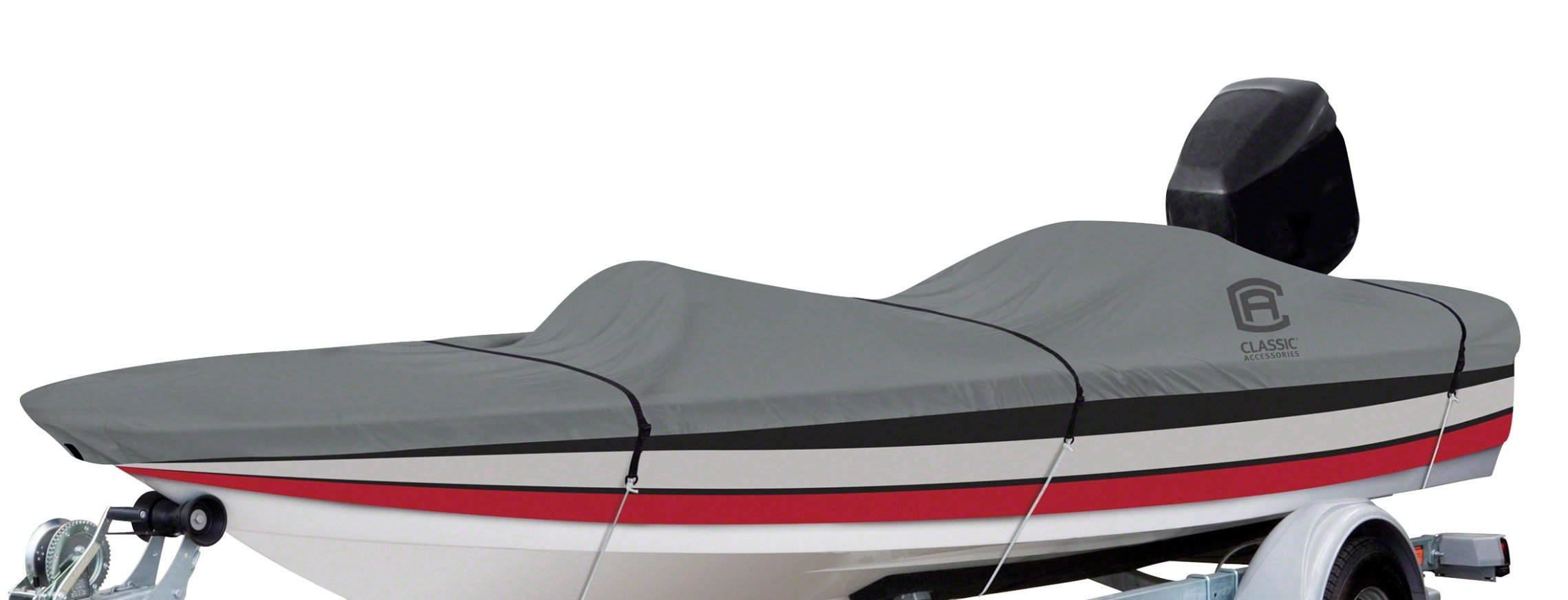 Classic Accessories Lunex RS-1 Boat Cover For Bass Boats 16' - 18.5' L Up to 98'' W by Classic Accessories