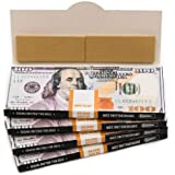 EMPIRE ROLLING - Four Pack Wallets $100 Bill Rolling Paper (40 Papers) - King Size BENNY | Made from Pure All Natural…