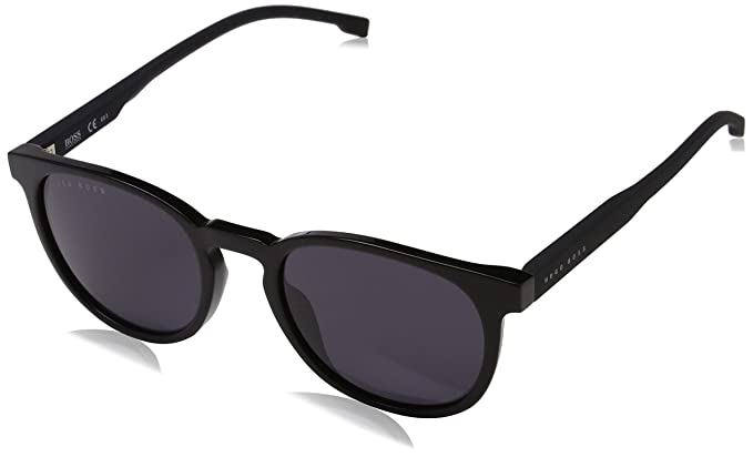 Neuankömmlinge neues Top Qualität BOSS Hugo Herren 0922/S IR 807 51 Sonnenbrille, Schwarz ...