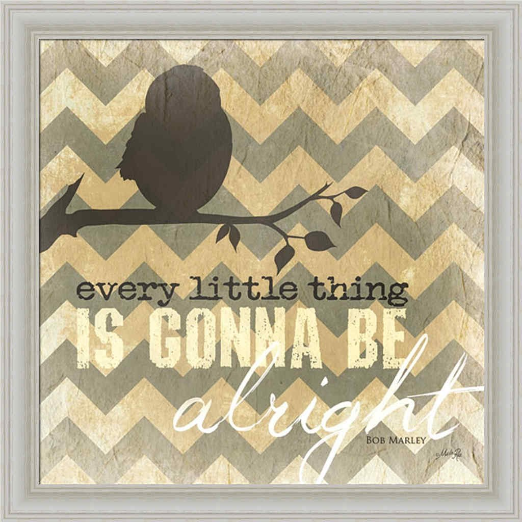 Amazon.com: Every Little Thing is Gonna be Alright by Marla Rae Sign ...