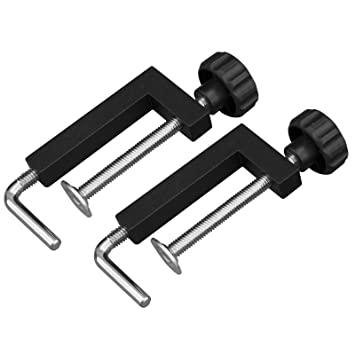 Powertec 71004 Universal Fence Clamp 2 Pack Table Saw Accessories