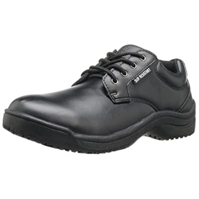 Skidbuster 5076 Women's Leather Slip Resistant Oxford: Shoes