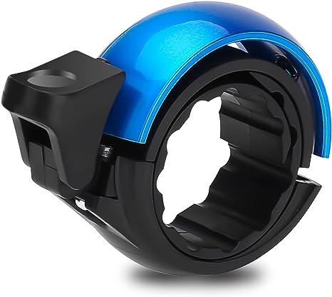 Zoegate Timbre de bicicleta según, diseño anillo con sonido nítido bicicleta timbre Q bicicleta aluminio – Timbre para bicicleta Ciclismo Bicicleta Kling para todos los bicicleta, azul: Amazon.es: Deportes y aire libre