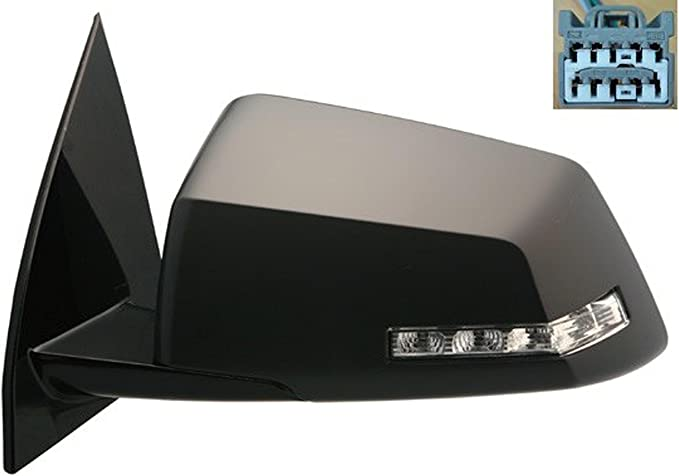 Dorman 955-1722 Honda Pilot Driver Side Powered Heated Fold Away Side View Mirror