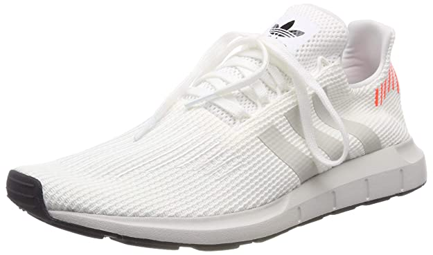 Amazon.com | adidas Originals Swift Run Shoes 6.5 B(M) US Women / 5.5 D(M) US Ftwwht/cblack/greone | Fashion Sneakers