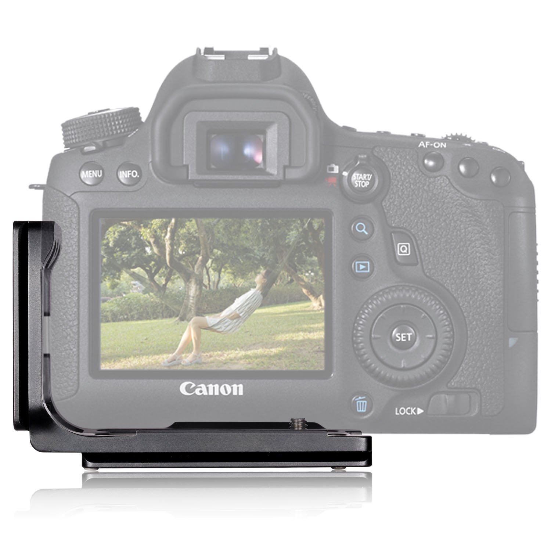 Really Right Stuff Lplate For Canon 6d Gear Wishlist T L Plate Bracket Shape Kamera Sony A7 A7r A7s Mark Ii Mark2 Neewer Black Aluminum Qr Quick Release Amazoncouk Camera Photo