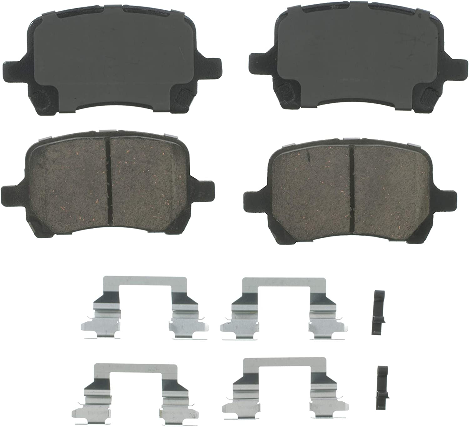 Wagner QuickStop Ceramic Disc Pad Set