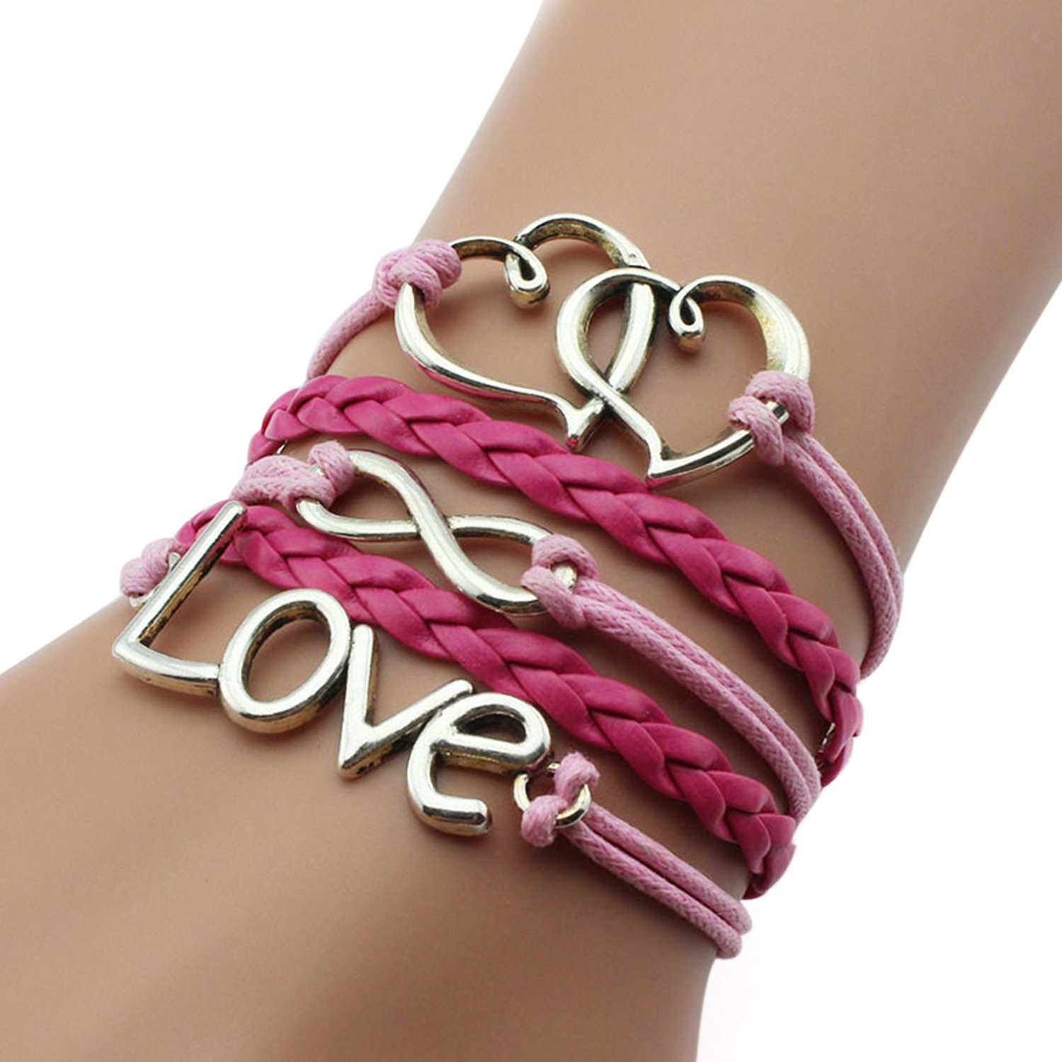 Amazon Nally Fashion Leather Multilayer Bracelet Trendy