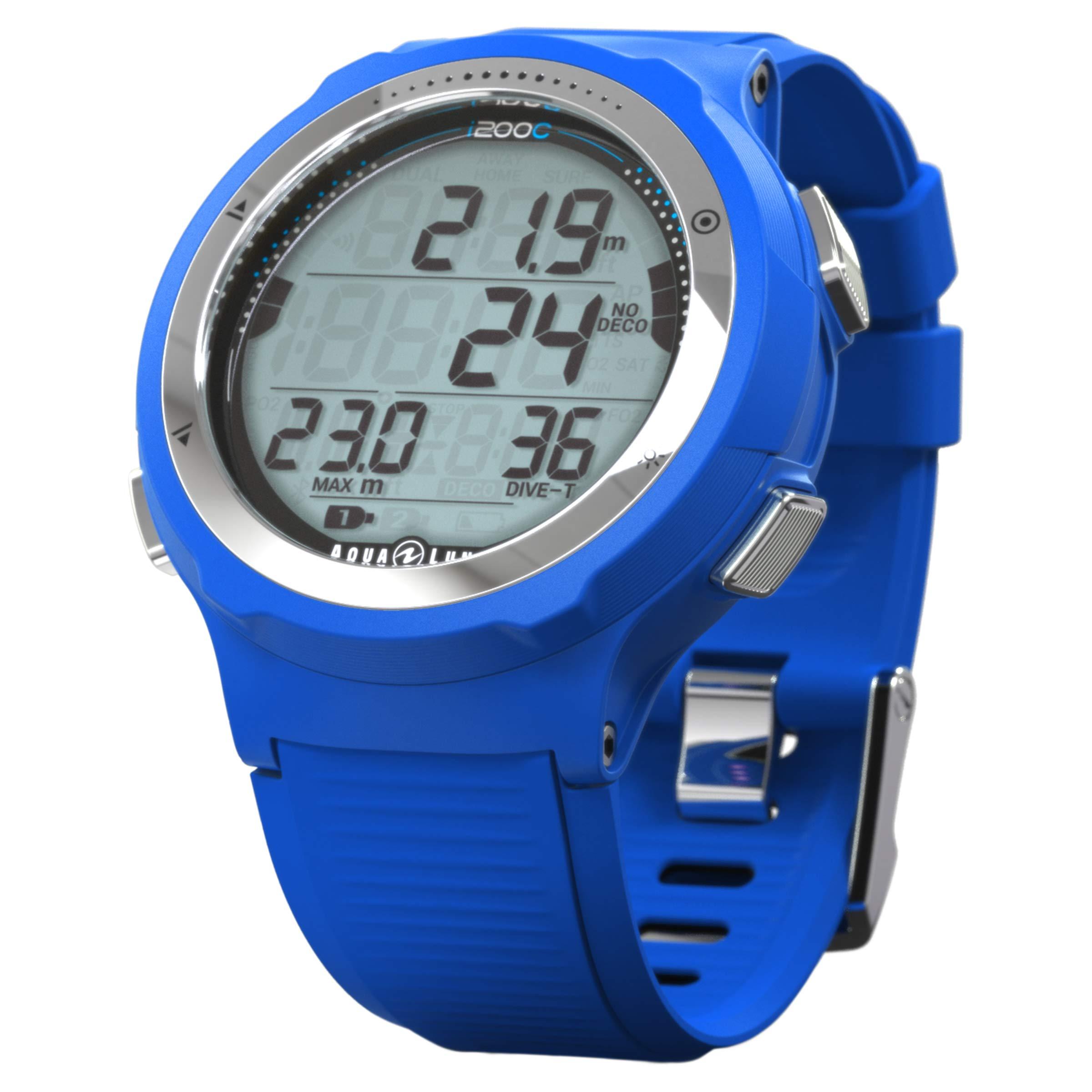 Aqua Lung i200C Wrist Dive Computer (Blue)
