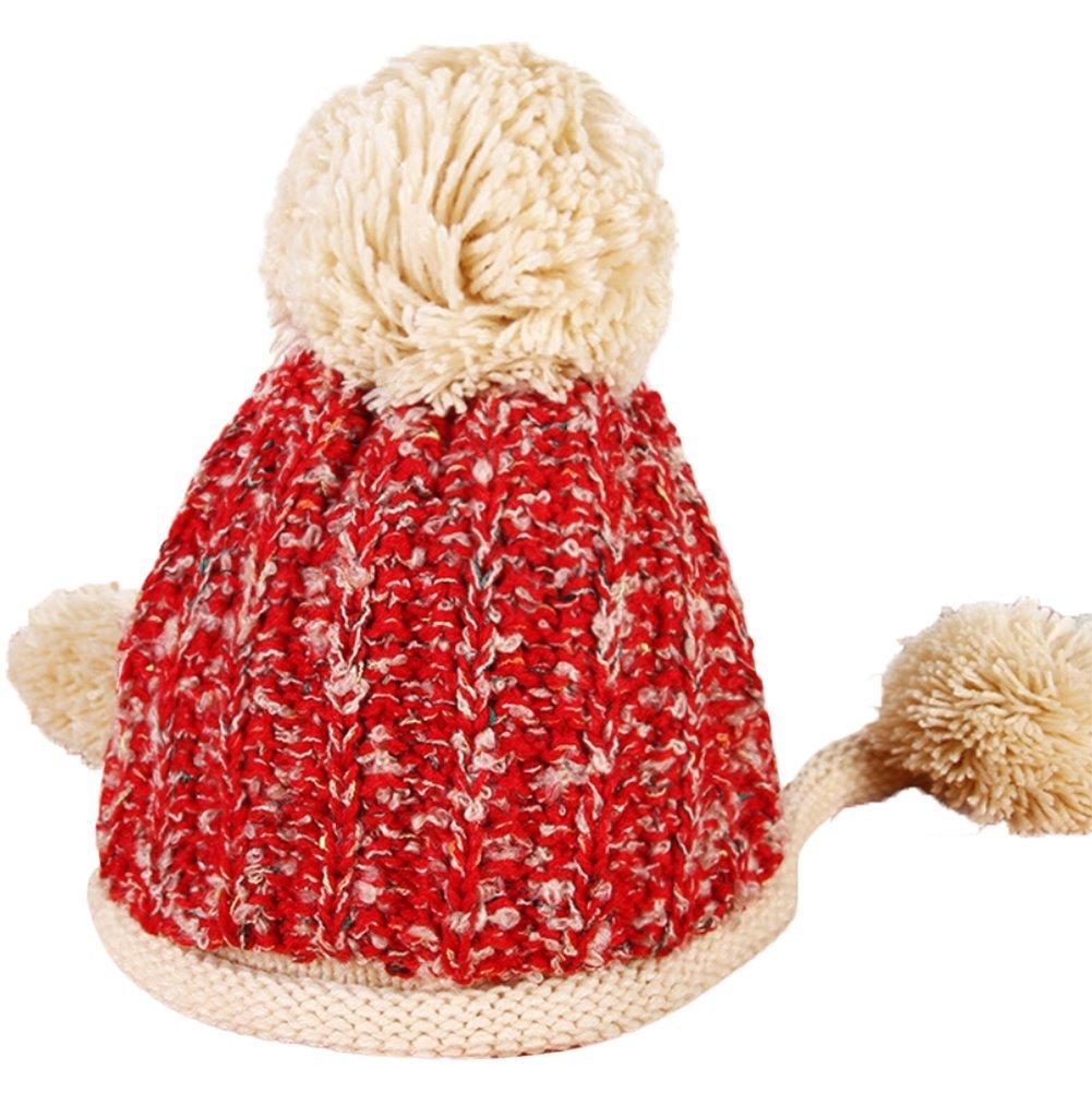 DaoRier 1pc Las Señoras de Invierno más el Terciopelo Acolchado cálido oído pato Lengua Sombrero de ...