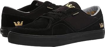 Zapatillas Supra: Melrose Black-Black BK 8.5 USA / 42 EUR
