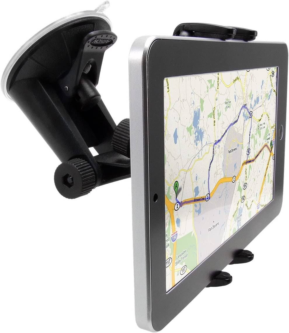 Flexible Suction Cup Cradle Holder for the Vehicle Auto Archos 48 Internet Tablet compatible Windshield Mount for the Car