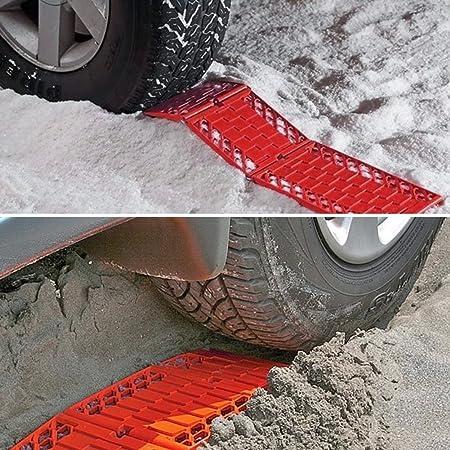 WawaAuto neumático de coche emergencia Anit antideslizante peldaños de tracción pistas nieve hielo Van camión Grip, Pack de 2: Amazon.es: Coche y moto