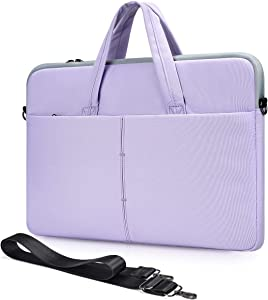 11.6-13 Inch Laptop Shoulder Bag for Acer Chromebook R11/Chromebook Spin 11, Asus Chromebook 11/Vivobook 11.6, Dell Chromebook/Inspiron 11, Google Pixelbook 12.3 Sleeve Case(Purple)