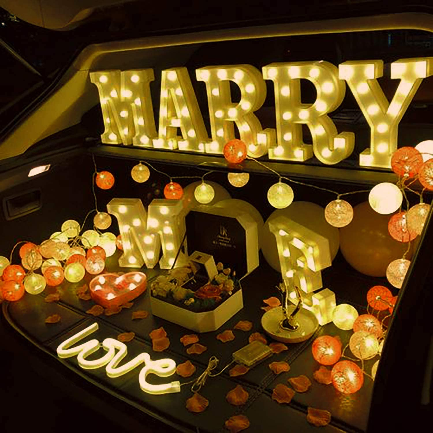 Battery Powered Letter H Warm White Marquee Letters Sign with Shining Bulbs Novelty Place Alphabet Light Standing Night Lamp for Wedding Home Party Bar D/écor