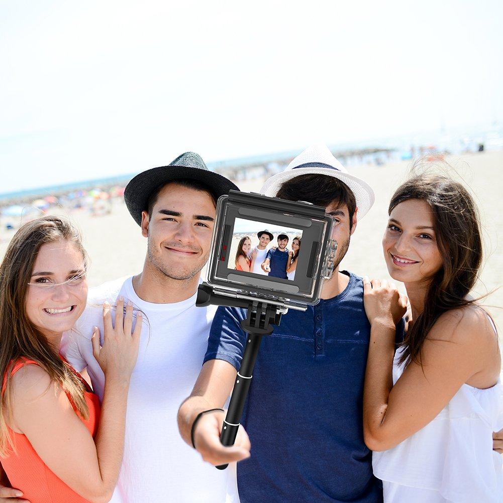 Palo de Selfie para c/ámara de acci/ón Cruzada CT7000//CT8000//CT9000 Crosstour