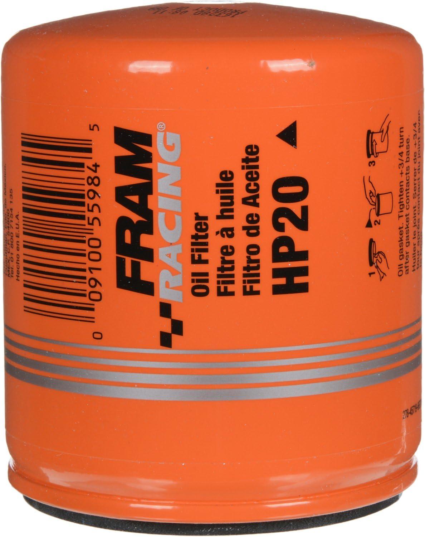 FRAM HP20 High Performance Spin-On Oil Filter