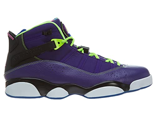 cheap for discount ccc16 2b2fd Jordan Nike Air 6 Rings Bel Air Mens Basketball Shoes 322992-515 Court  Purple Club