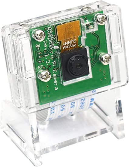 Official NOIR Raspberry Pi Camera board v2  8M with Clear Camera Case