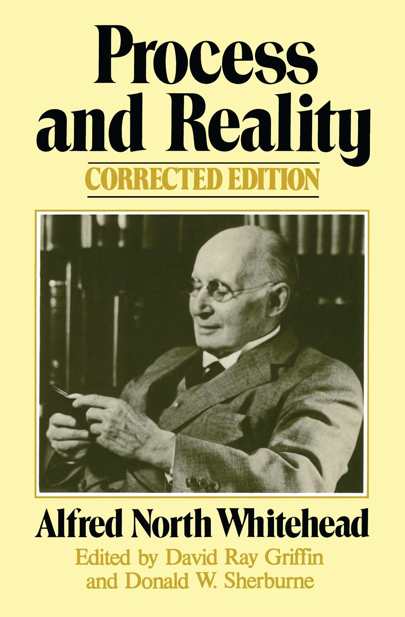 Amazon.com: Process and Reality (Gifford Lectures Delivered in the ...