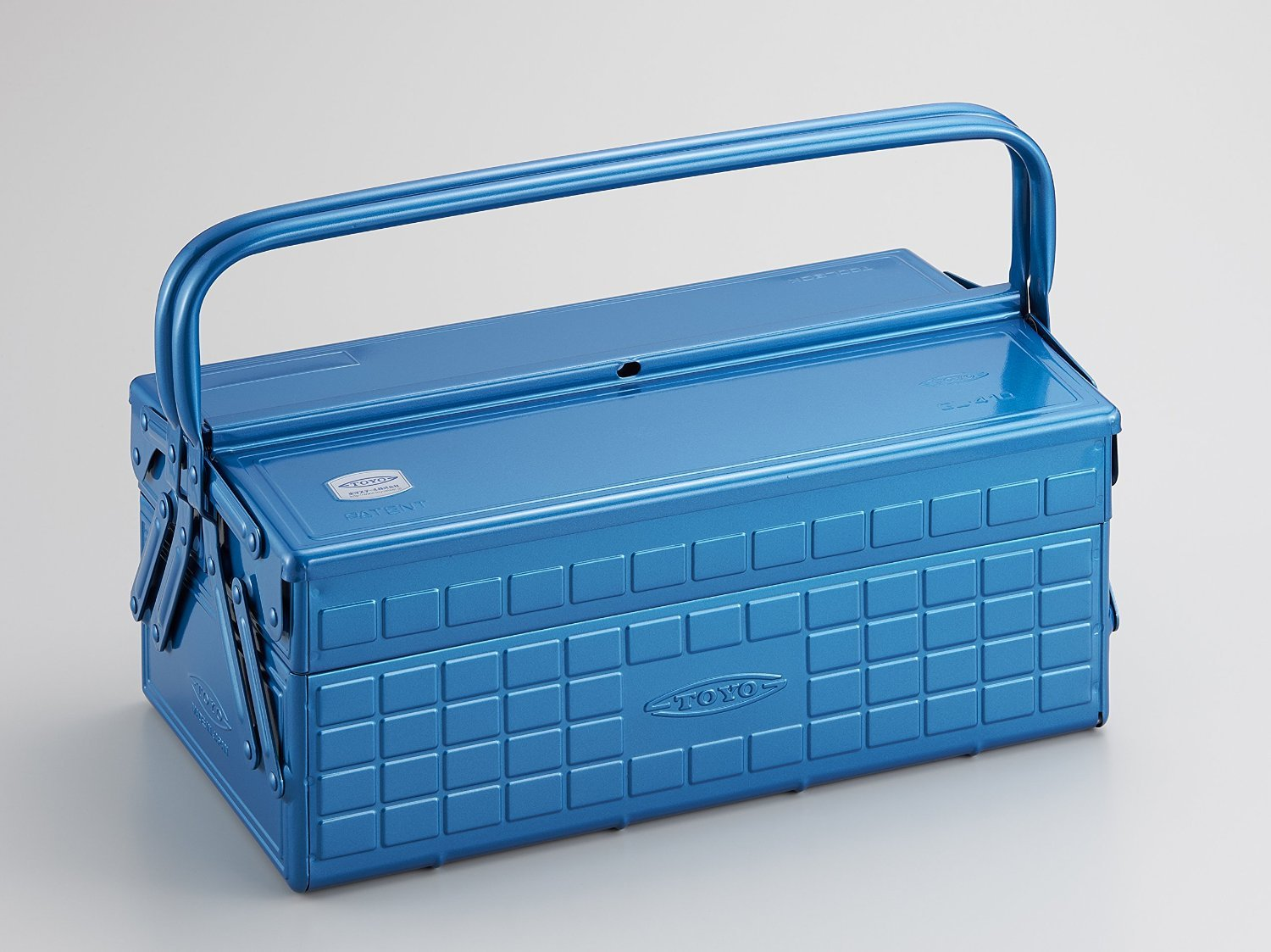 Tool Box with 2 Cantilever Tray
