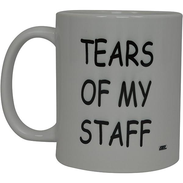 Tears Of My Staff Funny Employee Job Coffee Mug