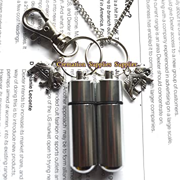 Amazon.com  Elephant Cremation Urn Pendant and Keychain-Stainless ... 1979881490