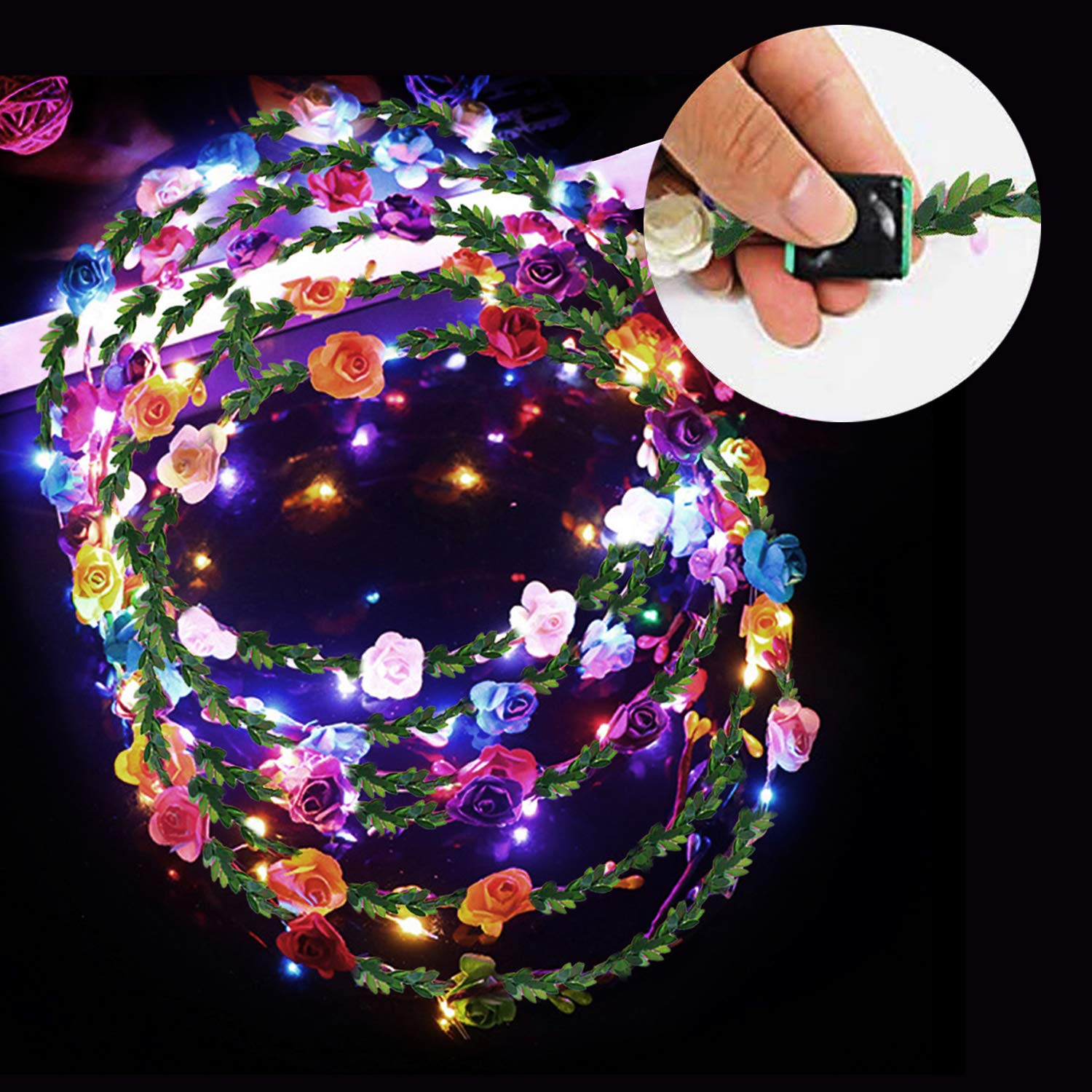 Amazon 2019 New Year Eve Rave Party Favors Glow Party Supplies