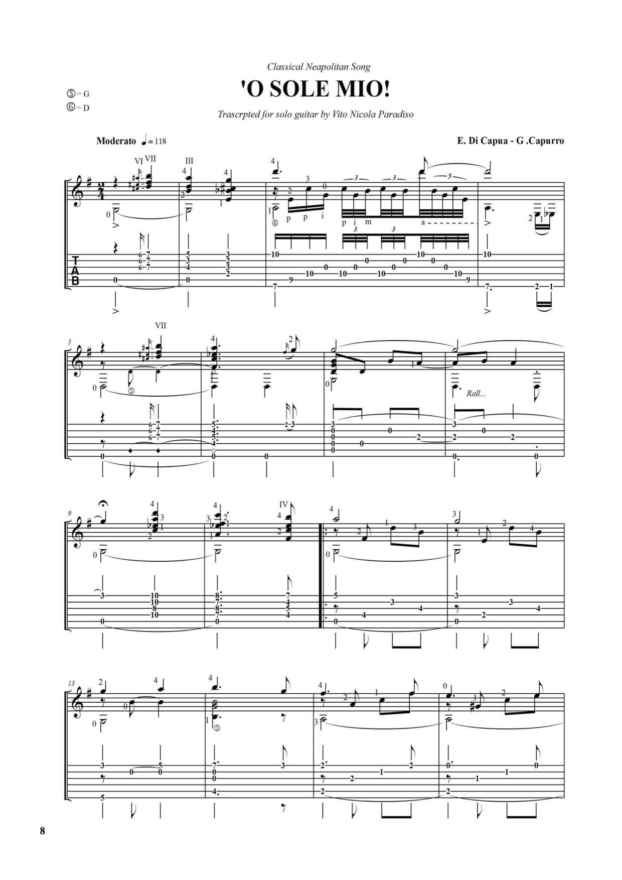 La chitarra napoletana. Manuale di prassi e tecnica esecutiva ...