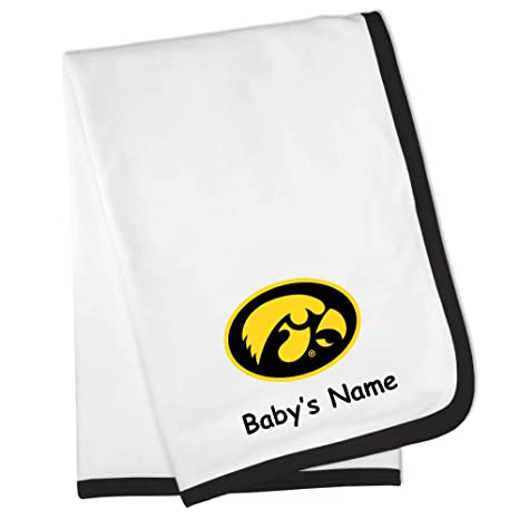 51c43791a68 Image Unavailable. Image not available for. Color: Future Tailgater Iowa  Hawkeyes Custom Personalized Baby Blanket