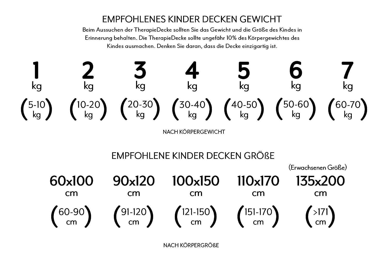 TherapieDecke 7 kg Prinzessinnen Gewichtsdecke Schwere Decke f/ür Kinder//Jugendliche mit Schlafproblemen und Funktionsst/örungen Gr/ö/ße: 110x170 cm