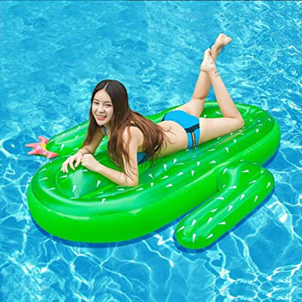 Amazon.com: LZTET Inflatable Swimming Pool Lounger Water ...