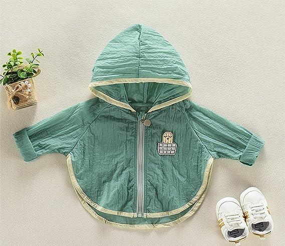 EEFRVDFFDE Baby Girls UV//Sun Protective Clothing Cartoon Hoodie Quick Dry Ultrathin Sunscreen Jacket Tops