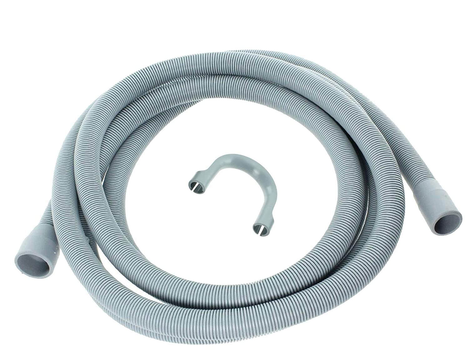 Extra Long 3.5m Length Universal Drain Hose For Washing Machine, Dishwasher & Other Applications, 2 Outlets 22mm & 29mm Bore - Please Check Pump Outlet Size. [Energy Class A+++] Zinc Products