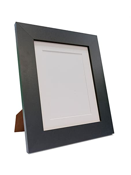 Mega Home Store Brix Black Photo Picture Poster Frame with Black ...