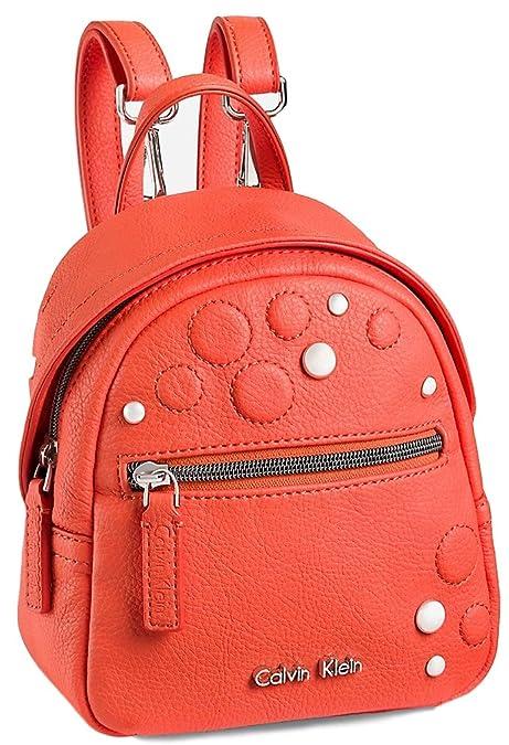 effd5080845 CALVIN KLEIN WHITE LABEL HAILEY STUDDED STUDIO BACKPACK (PICANTE):  Amazon.ca: Shoes & Handbags