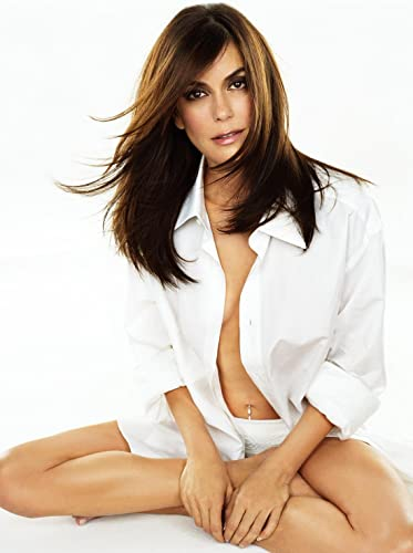 Teri Hatcher Sexy Hot Modeling White Top 8 Inch X 10 Inch